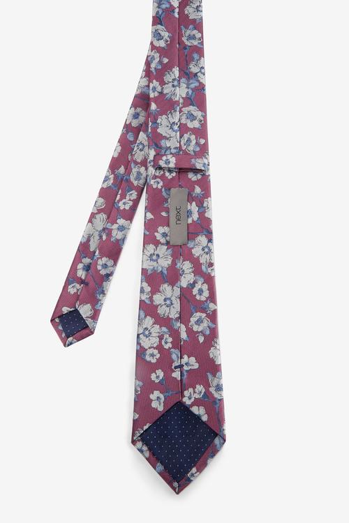 Next Floral Jacquard Tie