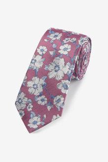 Next Floral Jacquard Tie - 274065