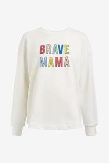 Next Maternity Brave Mama Sweater - 274080