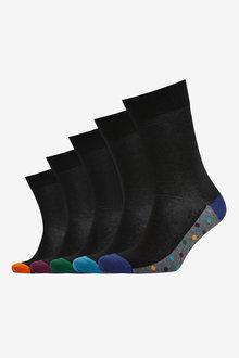 Next Footbed Socks Five Pack - 274101