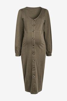 Next Maternity/Nursing Button Through Dress - 274113