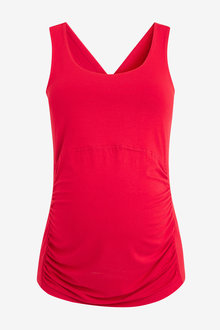 Next Maternity Sports Top With Cross-Back Detail - 274211