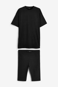 Next Oversized T-Shirt & Cycling Short Set - 274284