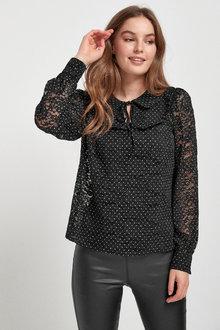 Next Collar Lace Blouse - 274322