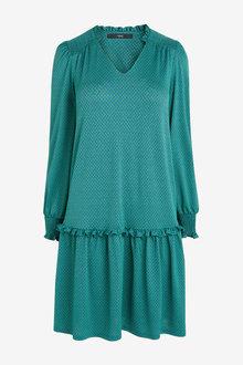 Next Smock Shoulder Dress-Regular - 274367