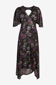 Next Sequin Printed Dress-Regular - 274368