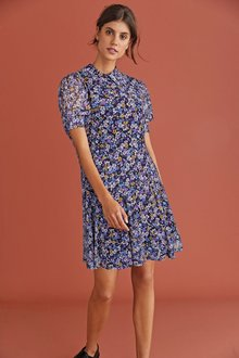 Next Collar Dress-Regular - 274398