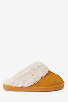 Next Suede Mule Slippers - 274910