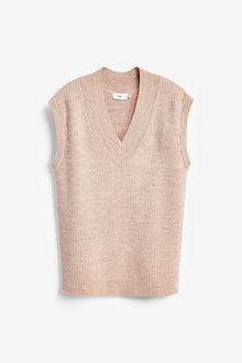 Next Knitted V-Neck Vest - 275303