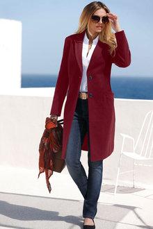 Euro Edit Tailored Coat - 275382