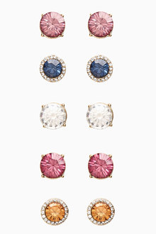 Next 5 Pack Stud Earrings - 275475