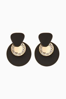 Next Matte Stud Earrings - 275484