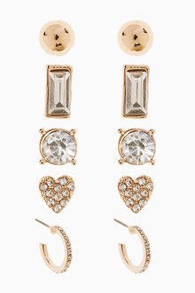 Next Sparkle Multipack Earrings - 275485
