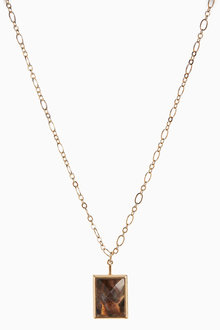 Next Rectangle Pendant Necklace - 275497