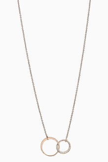 Next Just For You' Pavu Circle Necklace - 275500