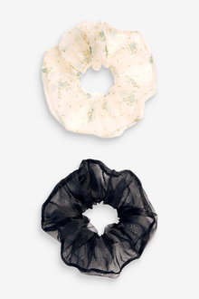 Next Organza Large Scrunchies - 275580