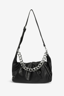 Next Chunky Chain Slouchy Clutch Bag - 275916
