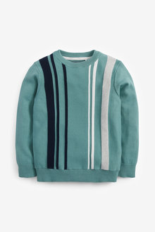 Next Vertical Stripe Jumper (3-16yrs) - 275924
