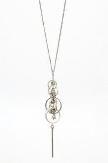 Next Circle Shapes Pendant Necklace - 275935