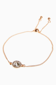 Next Sparkle Pully Bracelet With Swarovski Crystals - 275948