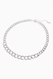 Next Pavu Chunky Chain Necklace - 275959