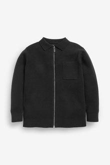 Next Zip Through Knitted Jacket (3-16yrs) - 275970