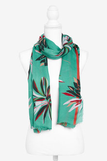 Next Floral Print Scarf - 276016
