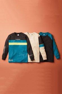 Next 3 Pack Colourblock T-Shirts (3-16yrs) - 276024