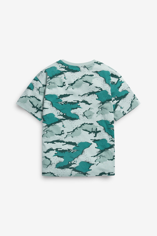 Next 3 Pack Splat Camo T-Shirts (3-16yrs)