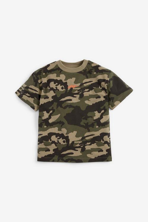 Next Camouflage T-Shirt (3-16yrs)