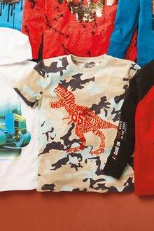 Next Flock Dino T-Shirt (3-14yrs) - 276058