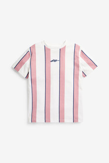 Next Vertical Stripe Short Sleeve T-Shirt (3-16yrs) - 276066