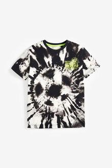 Next Tie Dye Football T-Shirt (3-16yrs) - 276068