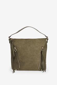 Next Zip Detail Shoulder Bag - 276226