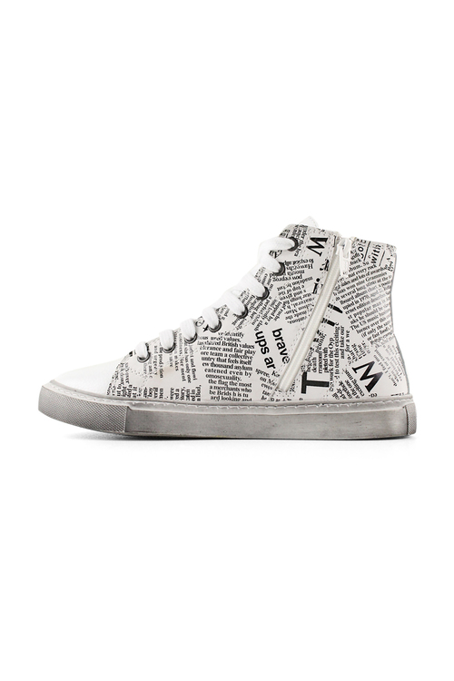 Bueno Suze Leather Sneakers