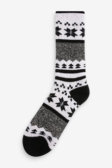 Next Fairisle Pattern Heat Holder Socks (Older) - 276307