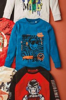 Next Graffiti Smile T-Shirt (3-16yrs) - 276313