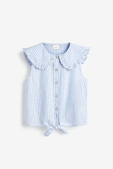 Next Tie Front Blouse (3-16yrs) - 276466