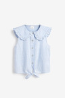 Next Tie Front Blouse (3-16yrs)