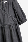 Next Denim Wrap Dress (3-16yrs)
