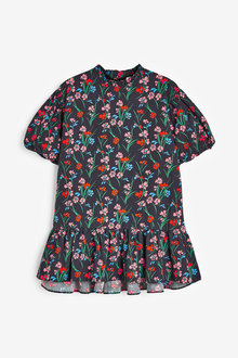 Next Volume Sleeve Cotton Dress (3-16yrs) - 276478