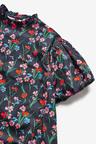 Next Volume Sleeve Cotton Dress (3-16yrs)
