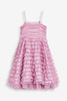 Next Tulle Tiered Party Dress (3-16yrs)