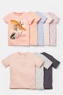 Next 5 Pack T-Shirts (3-16yrs) - 276539