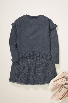 Next Check Dress (3-12yrs) - 276540