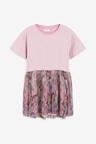 Next Lilac Floral Dress (3-12yrs)