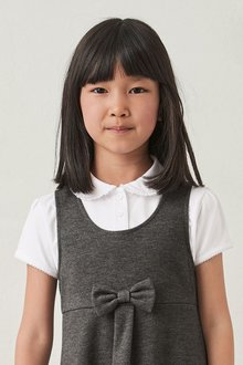 Next 2 Pack Pretty Jersey Tops (3-16yrs) - 276606