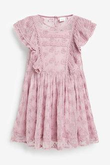 Next Lace Dress (3-16yrs) - 276648