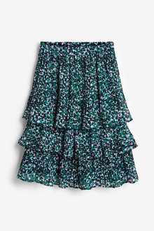 Next Animal Print Tiered Skirt (3-16yrs) - 276661