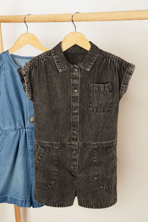 Next Denim Boilersuit (3-16yrs)